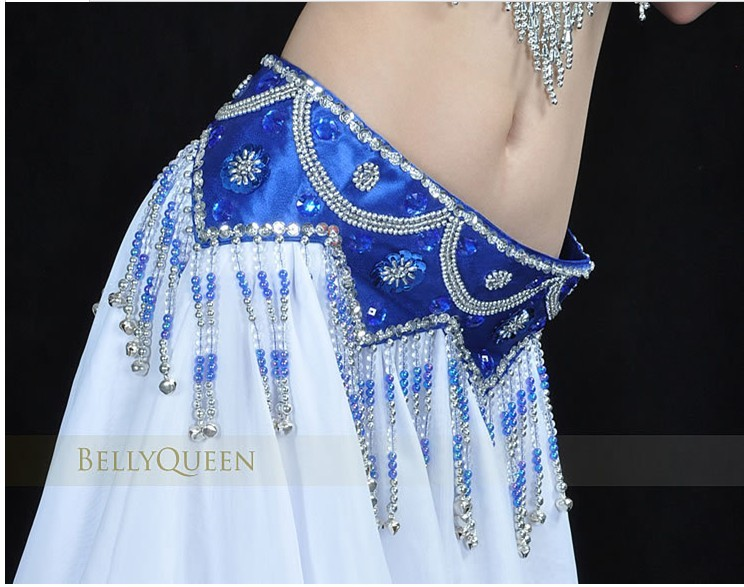 Wholesale belly dance hip scarf/belly dancing belt