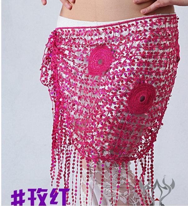 SEO_COMMON_KEYWORDS Belly Dancing Scarf Skirt Shawl Wrap wholesale hot red