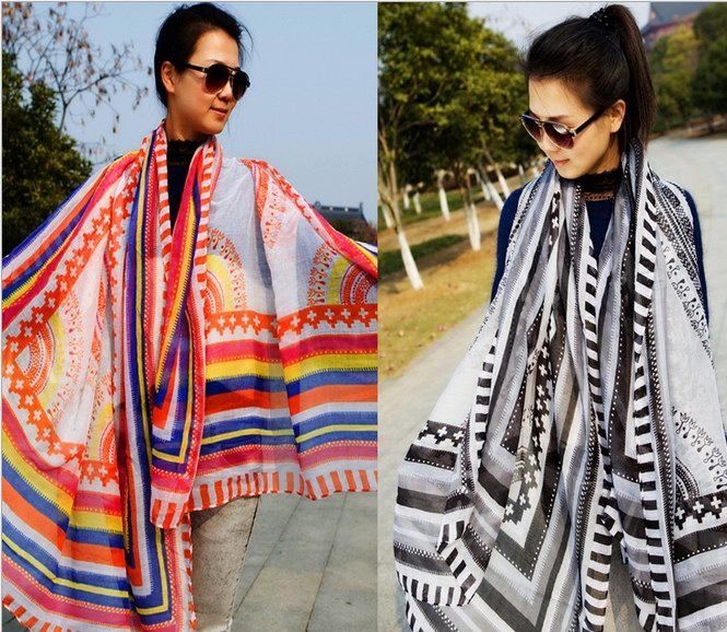 Cheap Bohemia Viscose Scarf for wholesale