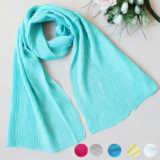 SEO_COMMON_KEYWORDS 051 Cheap plain color cottton scarf