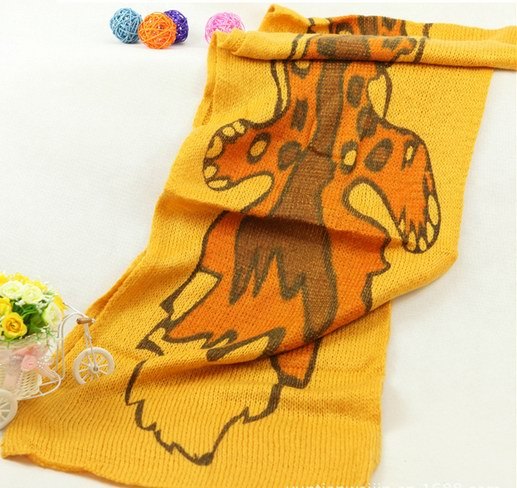 053 Cheap Knit Polyester scarf for winter