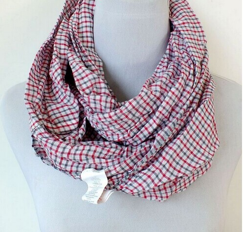 SEO_COMMON_KEYWORDS 0088 Cheap Infinity Scarf with check design