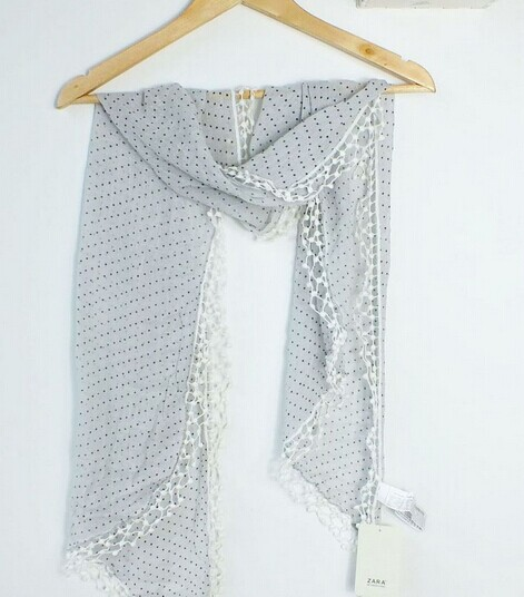 00101 Arab Pattern Scarf - Click Image to Close