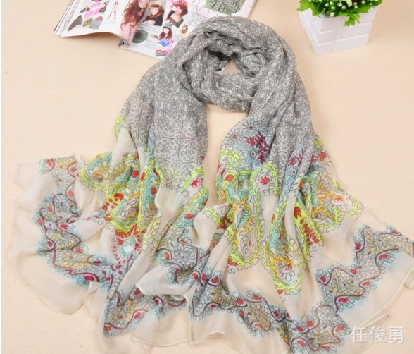 Wholesale Chiffon Scarf Silk USA