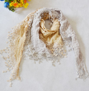 Cotton lace scarves australia