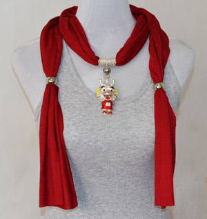 Red scarves wholesale