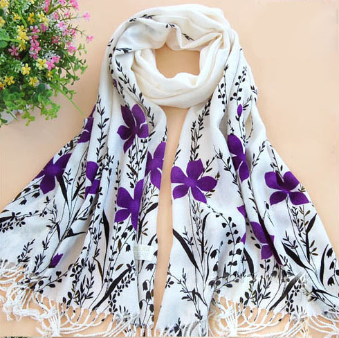 2012 Fashion cotton twill scarves