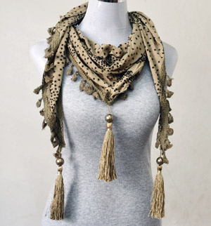 Wholesale jewelry scarves