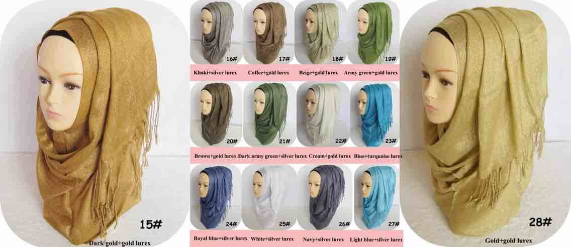 Promotion LADY fashionable cotton jersey scarf shawl muslim whol