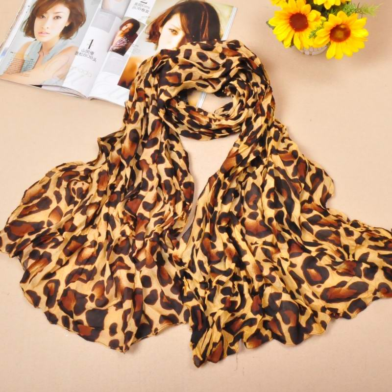 SEO_COMMON_KEYWORDS 1 Leopard Print Style Cotton Scarf New York