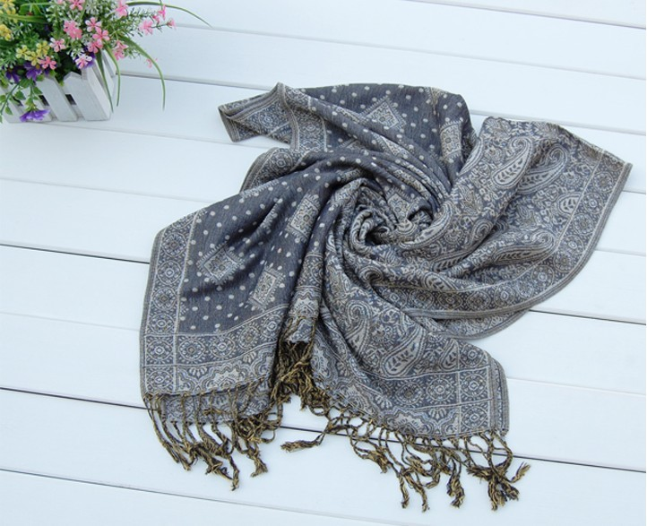 China Cheap pashmina scarves on sale