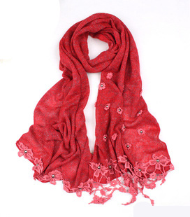 SEO_COMMON_KEYWORDS Red China wool scarf wholesale