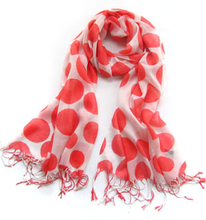 Spotted neck scarf cotton scarf wholesale
