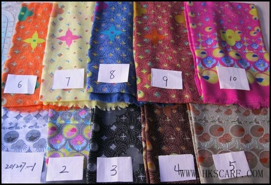 Australian cashew flower scarves wholesale
