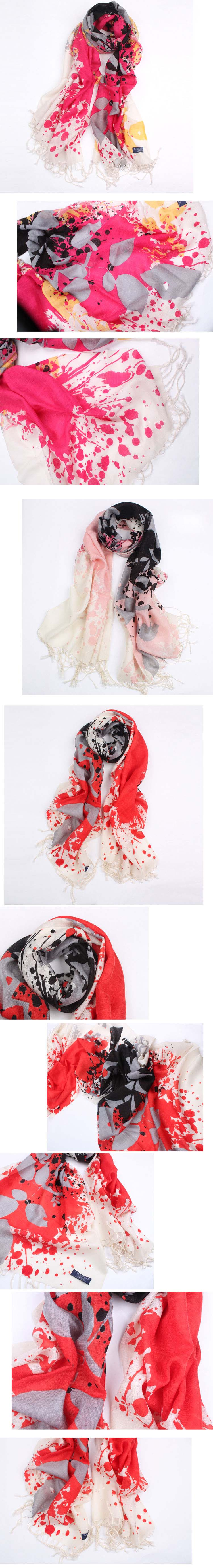 Charming Cashmere scarves for women
