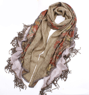 Womens romantic scarves for cheap