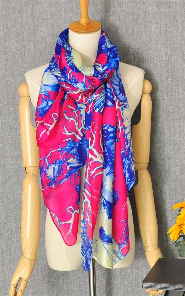 1 Top quality fashion shawl with flower design