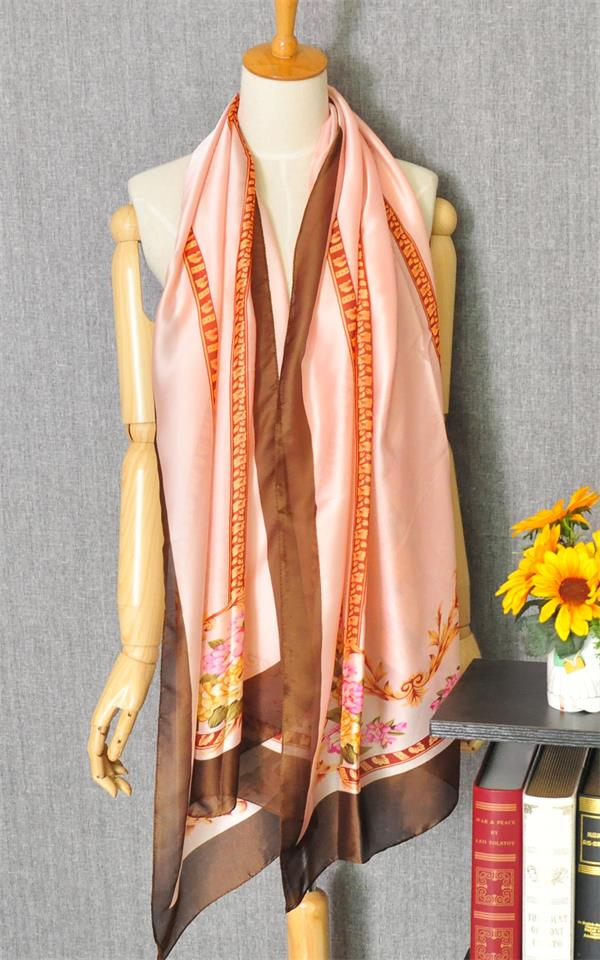 1 Flower design scarf for ladies