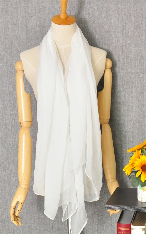 1 Plain Solid Colors Fashion Scarf