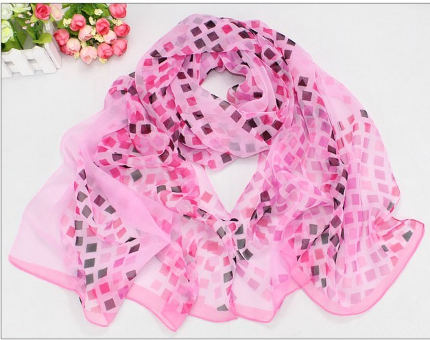 Check Style Silk Scarves for sale 2013