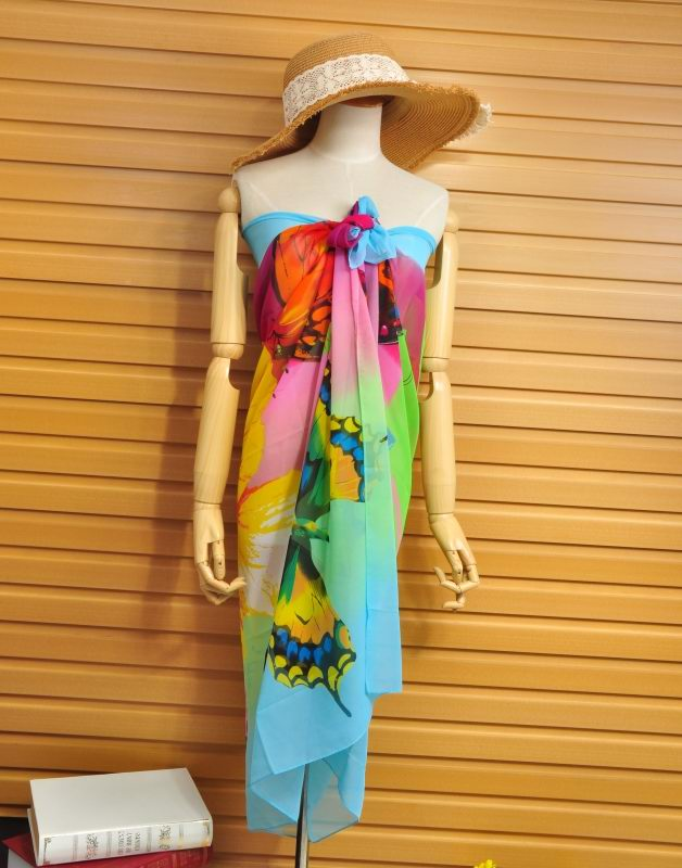 Hot Sale Brand Ladies's beach scarf Printed