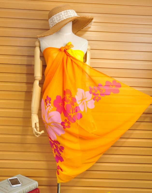 Summer Silk Beach Scarf On Sale