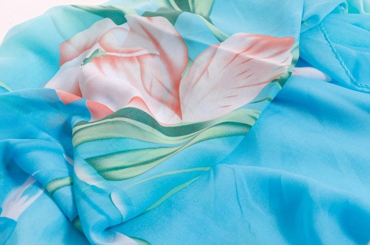 Lotus Design beach scarf for summer