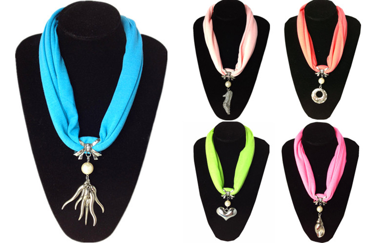 SEO_COMMON_KEYWORDS Wholesale Short Neck Pendant Scarves Jewelry