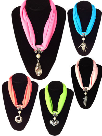 Buy Short Necklace jewelry Scarves wholesale in Canada