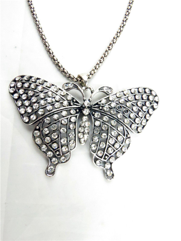 Butterfly design pendants necklace scarfs in Newyork
