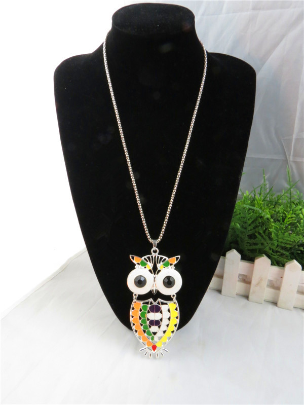 SEO_COMMON_KEYWORDS Fashion style owl pendant jewelry necklace wholesale