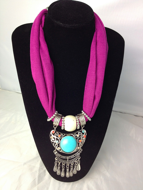 Wholesale Fashion Costume Jewelry charms scarf LANDON