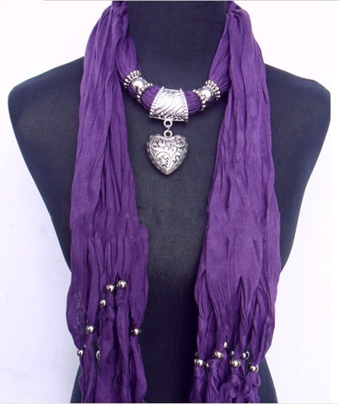 USA 2012 winter wholesale Scarf Necklace Jewelry Pendants