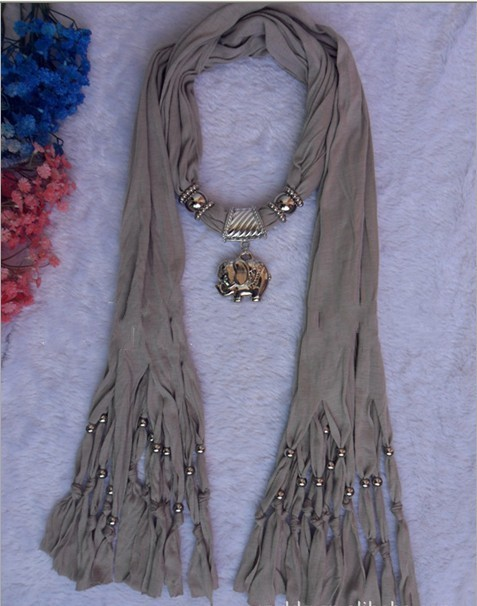 Cheap Wholesale alloy Pendant scarves