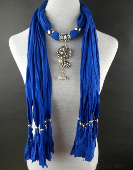 jewelry scarf jewellery with pendan