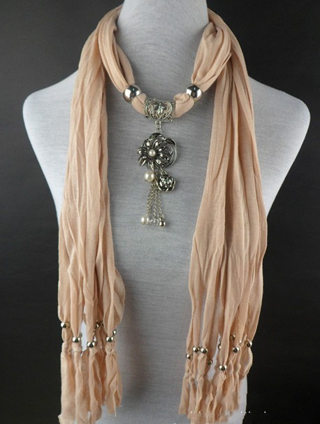wholesale cross pendant scarf