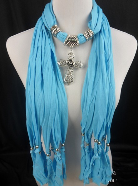 pendant scarf wholesale Online [JEWELRY 1074]