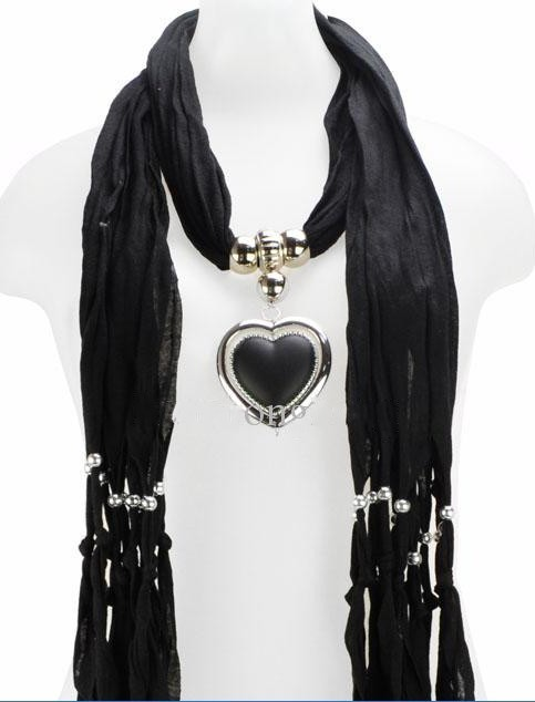 scarves with jewellery attached australia