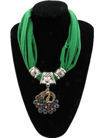 2013 Wholesale pendant scarf jewelry scarf usa