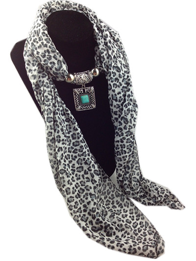 leopard jewelry scarf wholesale