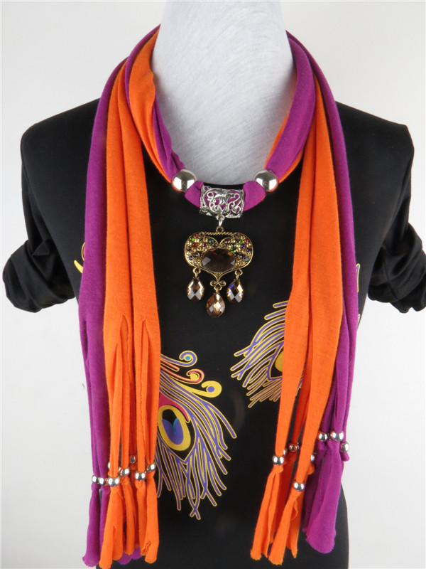 womens western scarves with pendants
