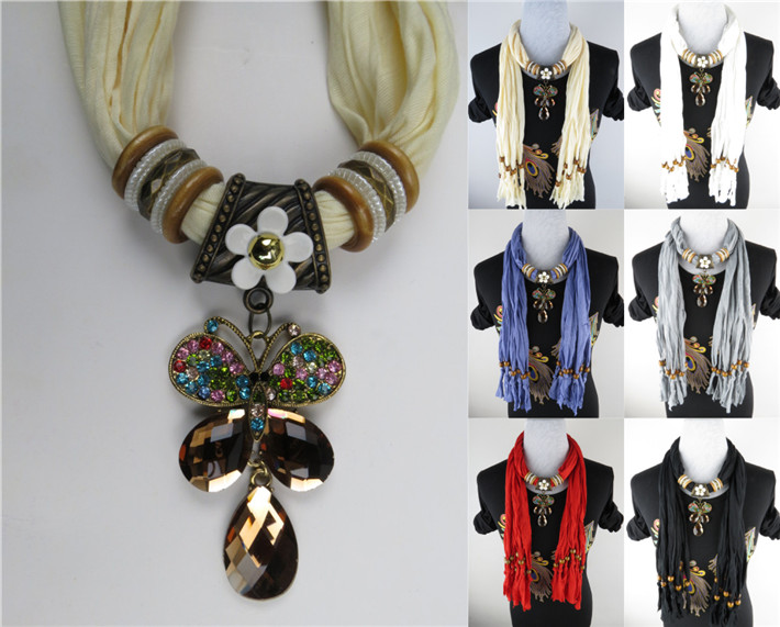 NY pendant scarf wholesale for lady