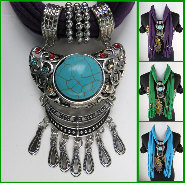 UK pendant scarf wholesale for lady