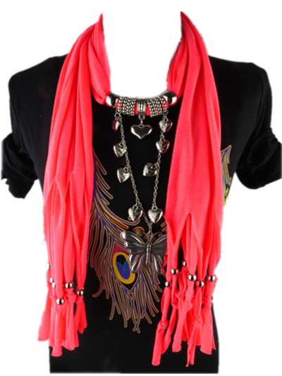 Wholesale beads jewelry scarf for women