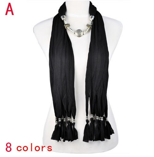 USA 2013 New Design fashion jewelry beads necklace scarf