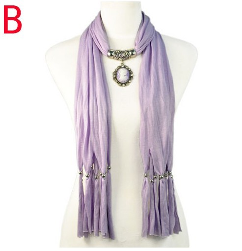 Beauty charm jewelry scarves wholesale christmas gift for women