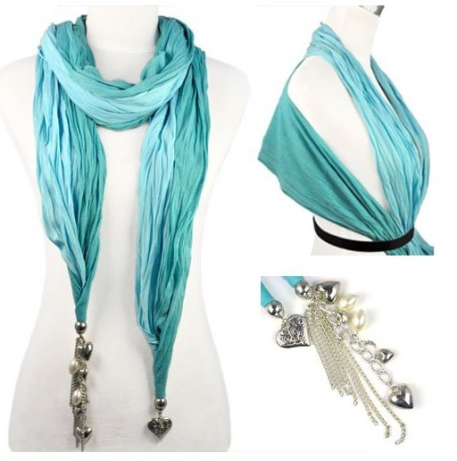 SEO_COMMON_KEYWORDS Multifunction usage jewelry scarf with tassel for women