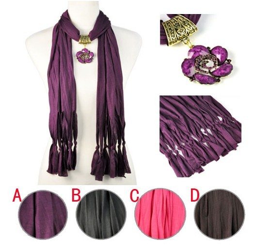 SEO_COMMON_KEYWORDS Usa christmas gift women scarves with flower charm