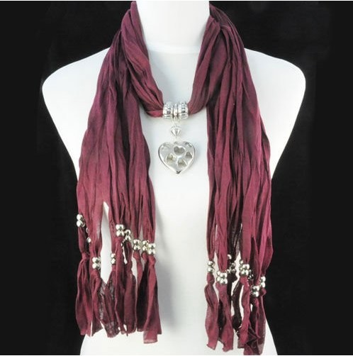 Fashion Knitted Jewelry Scarf Wholesale usa