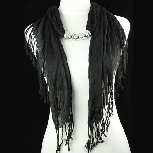 Novel fashion jewelry scarves hot selling